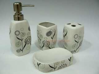 High End Bathroom 4pcs Ceramic Accessories set MS999