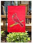 CARDINALS ~ Embroidered MLB 11x15 Garden Flag Banner ~ New