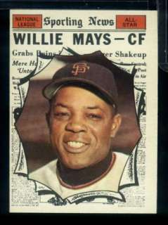 T8) 1961 Topps # 579 WILLIE MAYS *San Francisco Giants