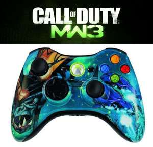 10 Mode xbox 360 Rapid Fire modded Controller Dragon Modern Warfare 3
