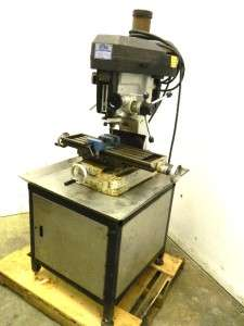 Top Milling Machine Mill 28 x 9 Table Variable Speed 5 Quill NICE
