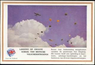 WWII, British Paratroopers Jumping (1940s) Dutch Ed