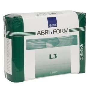 Abena Abri Form L3 Adult Diapers   Case of 80 (40 60