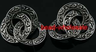 Free ship90pcs tibetan silver ring charms pendant 27mm