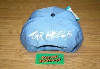 Vintage UNC North Carolina Tarheels snapback hat NWT Jordan XI