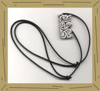 HAIDA design Symbol of Strength Grizzly BEAR NECKLACE