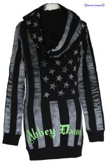 NEW ABBEY DAWN AVRIL LAVIGNE BLACK WHITE ROCKSTAR BFH HOODY HOODIES 10