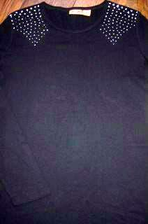 WRANGLER Womens Ladies Western Shirt L $32 NEW NWT GORGEOUS JET