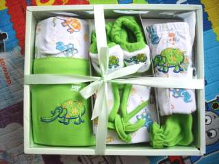 NEW Baby Newborn Infant Clothes Set Outfit 0 3M Green