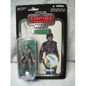 Luke Skywalker Bespin Fatigues Foil Variant Card 2010 Action Figure