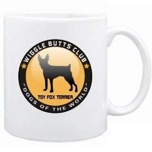 New  Toy Fox Terrier   Wiggle Butts Club  Mug Dog