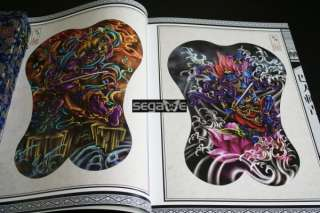 A3 Sketch Tattoo Flash Magazine Art Book CHINA BAREN 3