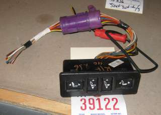 side front power seat switch from a 1990 jaguar xj6 ry39122 0 12 3076