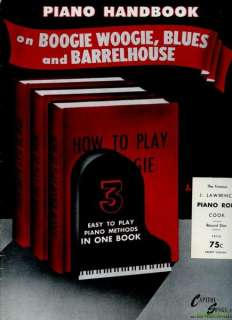 Piano Handbook on Boogie Woogie Blues Barrelhouse AMERICAN CLASSIC