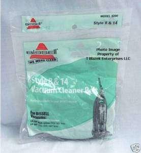 Bissell 8 & 14 Genuine Vacuum Belts 2 pk 3750 3760 6595