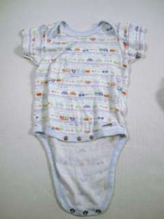 Lot of Infant Boys Clothing Size 6 9 Months Pajamas Body Suits
