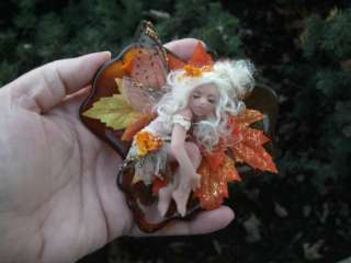 OOAK Child Fairy Faerie Fae WITW IADR Deborah McCain Whispers in the