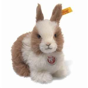 Steiff Dormili Dwarf Rabbit Alpaca 7 Red/White: Toys & Games