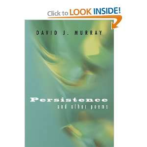 Start reading Persistence and Other Poems on your Kindle in under a