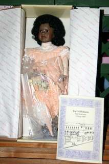 RACHEL WILLIAMS DOLL ~ GEORGETOWN DOLL BY LINDA MASON
