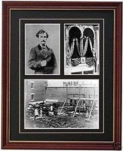 John Wilkes Booth Abraham Lincoln Photograph Civil War