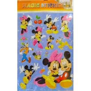 MAGIC STICKERS MICKEY & MINNIE MOUSE
