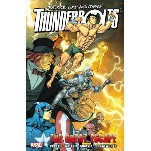 Thunderbolts The Great Escape (9780785161707) Jeff
