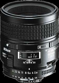 Nikon Micro NIKKOR 60mm f/2.8D Macro AF + Lens Kit NEW