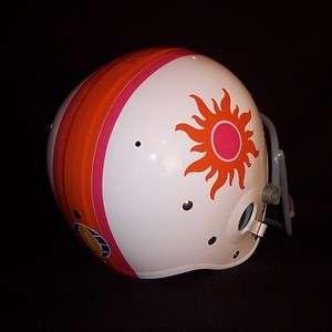 1974 WFL California Sun Suspension Football Helmet