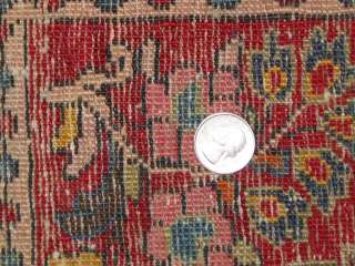 Antique Sarouk Persian Hand Knotted Rug B 7594