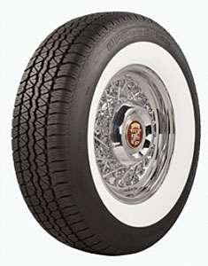 Coker Tire 530303 Silvertown BFG Radial Whitewall Tire