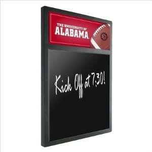 Alabama Crimson Tide NCAA Backlit Football Chalk Board