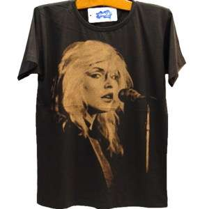 BLONDIE Debbie Harry 80s Indie Punk Rock T Shirt L