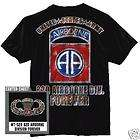 US ARMY 82nd Airborne Division T Shirt 82 ABN Div Med