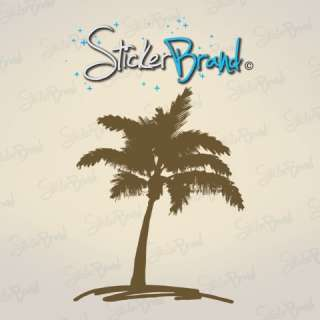 Vinyl Wall Decal Sticker Palm Tree Drawing