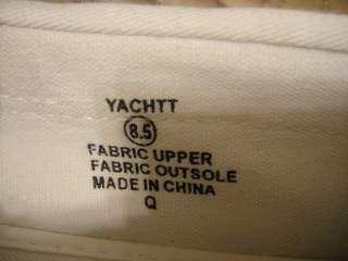 STEVE MADDEN YACHTT WHITE BOAT SHOE SIZE 8.5 NEW IN BOX