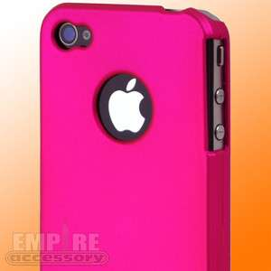 HOT PINK ULTRA LITE SLIM HARD CASE COVER for iPhone 4 4S Att Verizon