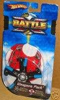Hot Wheels Battle   Weapons Pack ~ Grinder & Missile ~