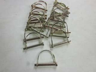 LOT OF ~20~ ROUND LOOP PTO CAMPER AWNING CANOPY TRAILER RECIEVER 3 5