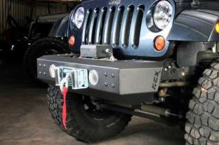 Jeep Wrangler JK Rough Country Front Winch Bumper 07 11