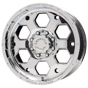 American Outlaw Colt Series Chrome Wheel (20x9/6x139.7mm)