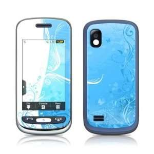 Blue Crush Design Skin Decal Sticker for Samsung Advance