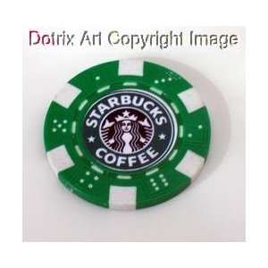 Sarbucks Coffee Las Vegas Casino Poker Chip limied ed