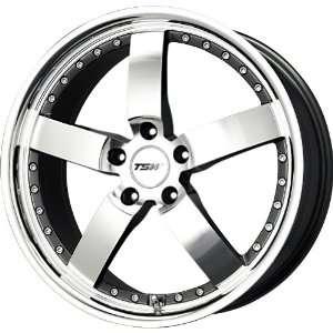TSW Alloy Wheels Vairano Gunmetal Machined Wheel (18x9.5