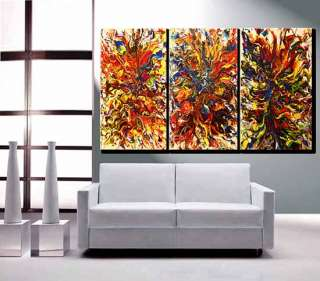 Huge Original Oil painting Abstract Modern Art Gallery Contemporary