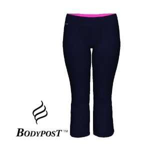 NWT BODYPOST Womens HyBreez Fitness Capri Pants, Size: M