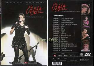 OLIVIA NEWTON JOHN Live In Concert (1982) DVD, SEALED!