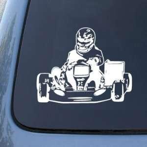 Go Kart Racer   Racing   Car, Truck, Notebook, Vinyl Decal Sticker