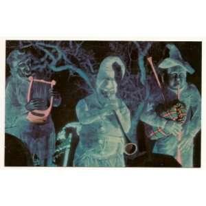 Walt Disney World Magic Kingdom The Haunted Mansion 3x5 Postcard 0100