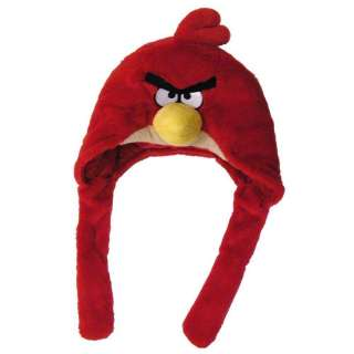 Angry Birds Plush Red Bird Laplander Hat/commonwealthy toy
